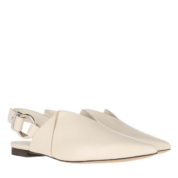 Schuh, 3.1 Phillip Lim, Deanna Folded Pointy Flat Beige