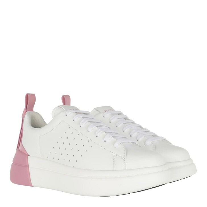 Schuh, Red Valentino, Sneaker White Sweet Rose