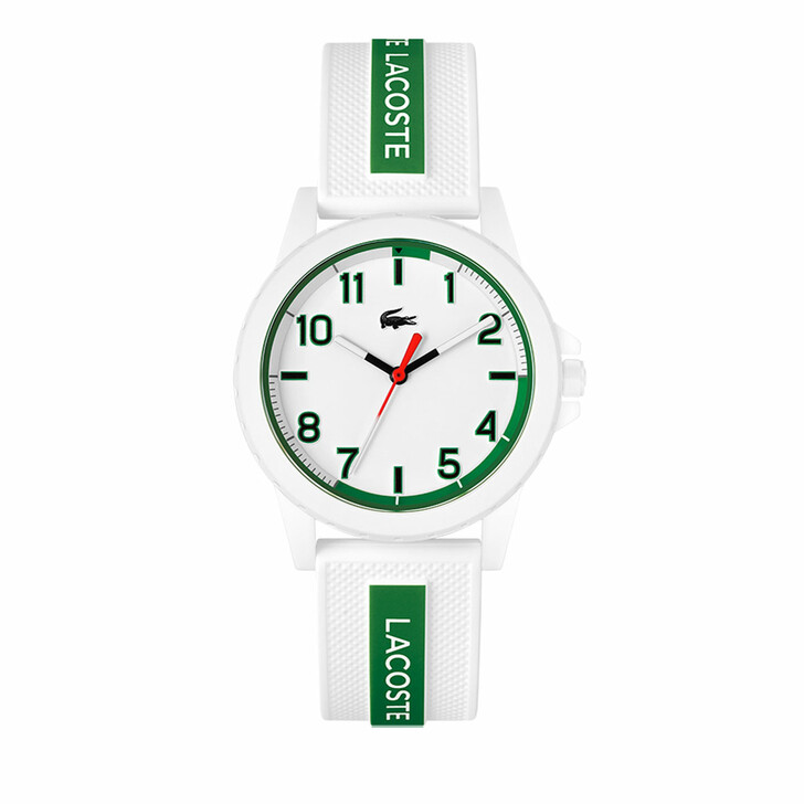 watches, Lacoste, Watch Rider White Green
