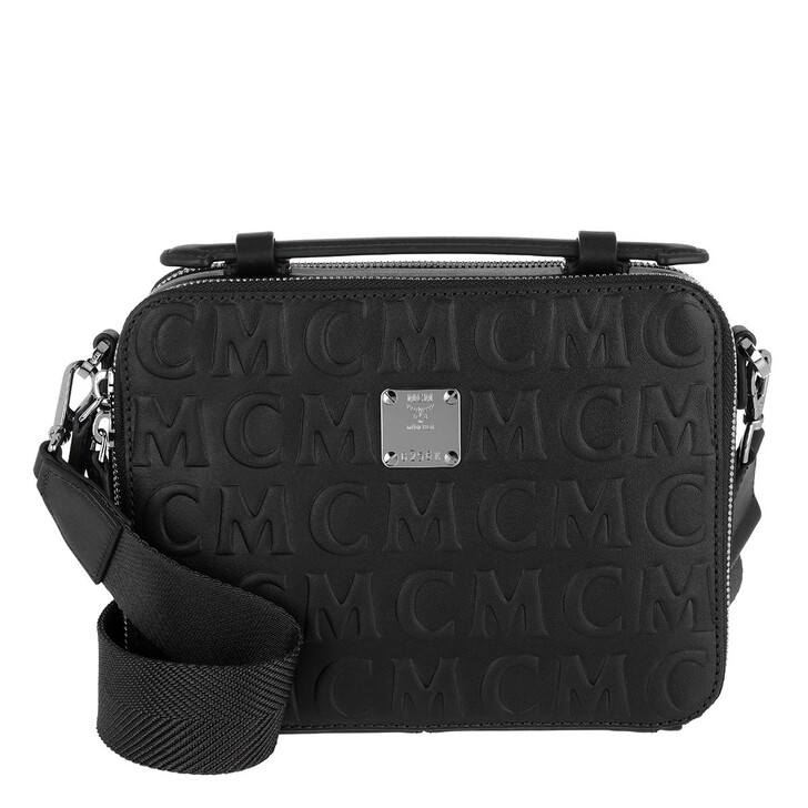 bags, MCM, Klara Mcm Mini Lt Crossbody Small   Black