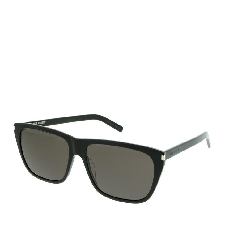 Sonnenbrille, Saint Laurent, SL 431 SLIM-001 57 Sunglasses Man Black