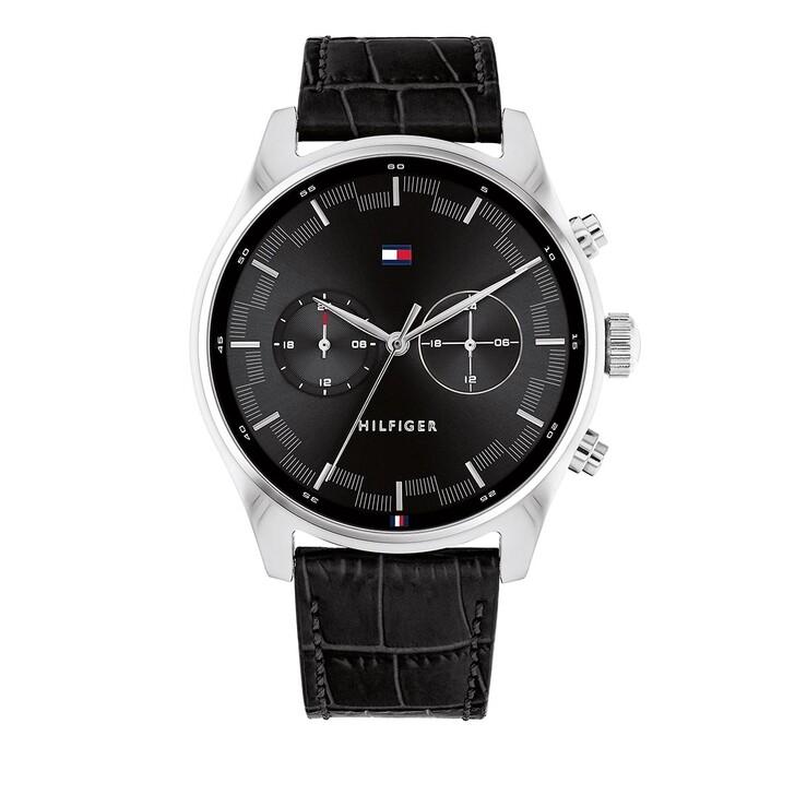 Uhr, Tommy Hilfiger, Wrist Watch Black