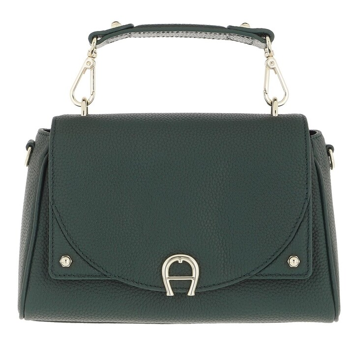 bags, AIGNER, Diadora Handbag Deep Green