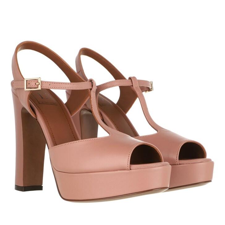 Schuh, L´Autre Chose, Heel Sandals Lamb Leather Antique Rose