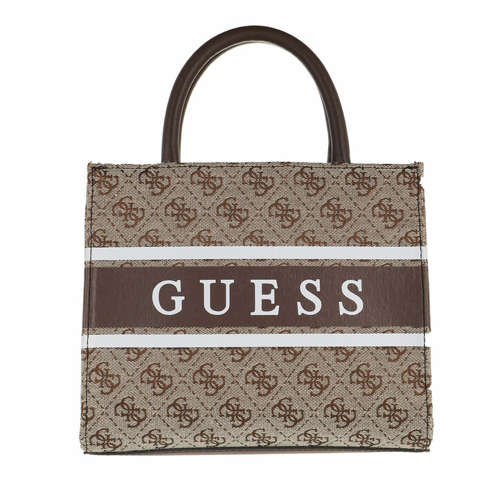Handtasche, Guess, Monique Mini Tote Brown