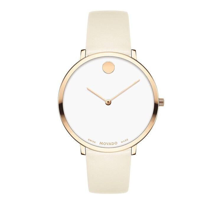 watches, Movado, Modern 47 Watch Beige