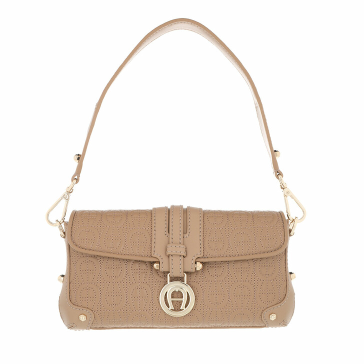 Handtasche, AIGNER, Lori Pochette Bag Cashmere Beige