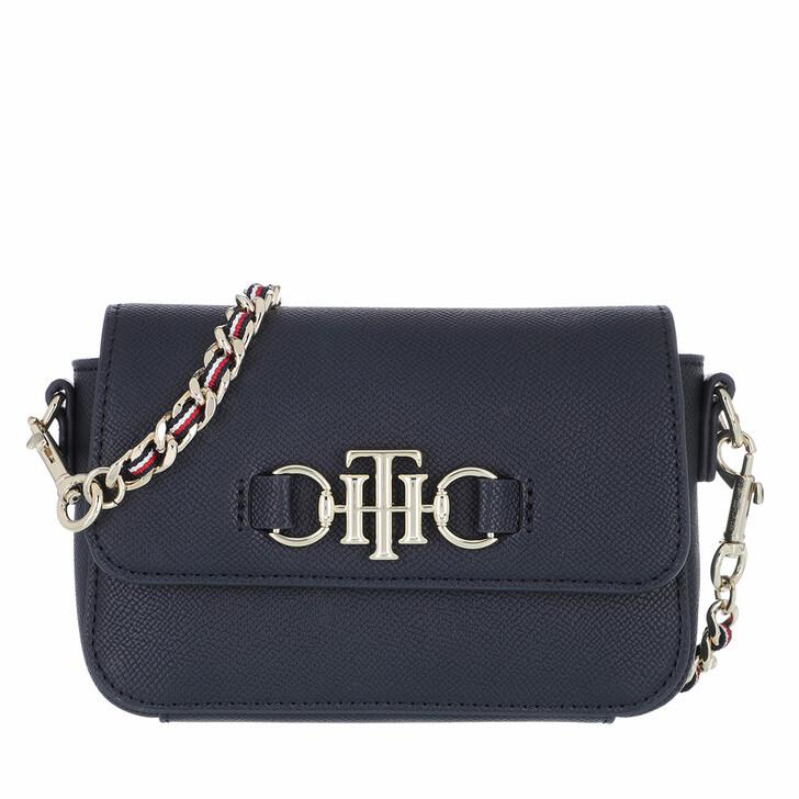 Handtasche, Tommy Hilfiger, TH Club Mini Crossbody Bag Desert Sky