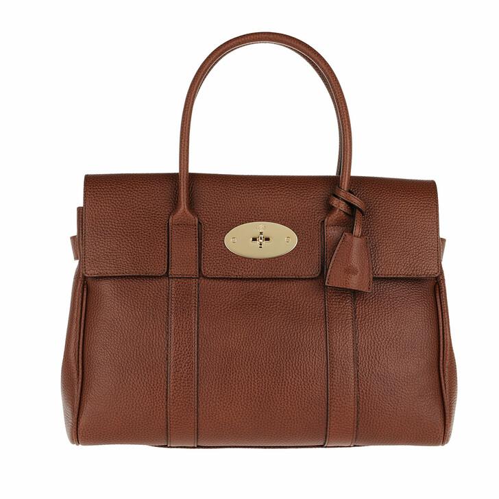 Handtasche, Mulberry, Bayswater Shoulder Bag Leather Oak