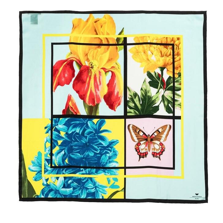 scarves, WEEKEND Max Mara, Mora Stola Scarf Light Blue