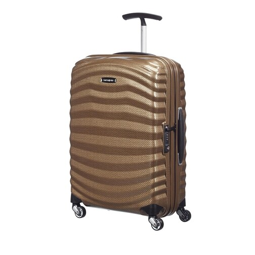 samsonite -  Reisegepäck - Lite Shock Travel Bga - in beige - für Damen