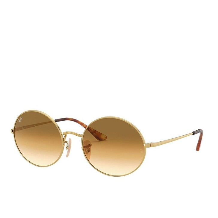 Sonnenbrille, Ray-Ban, Unisex Sunglasses Icons Shape Family 0RB1970 Gold