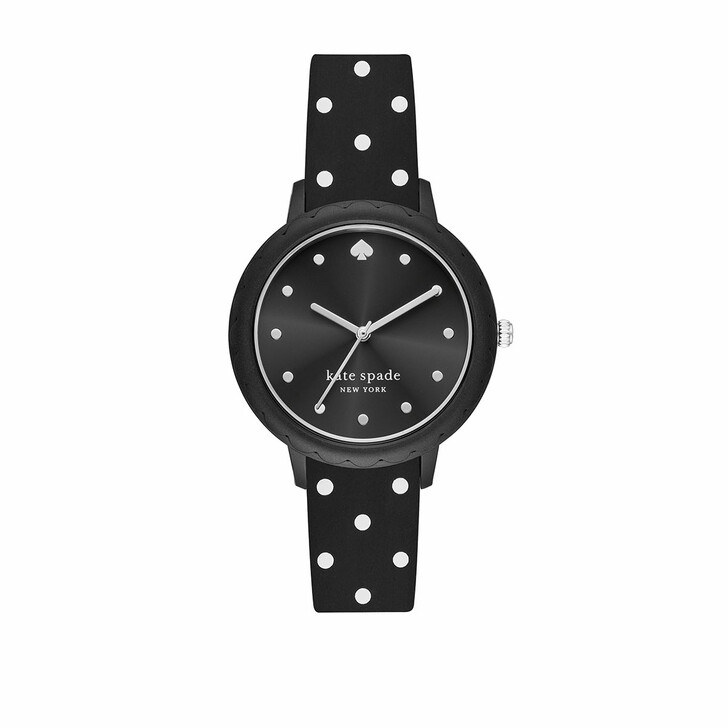 Uhr, Kate Spade New York, Morningside Dot Watch Silicon Black
