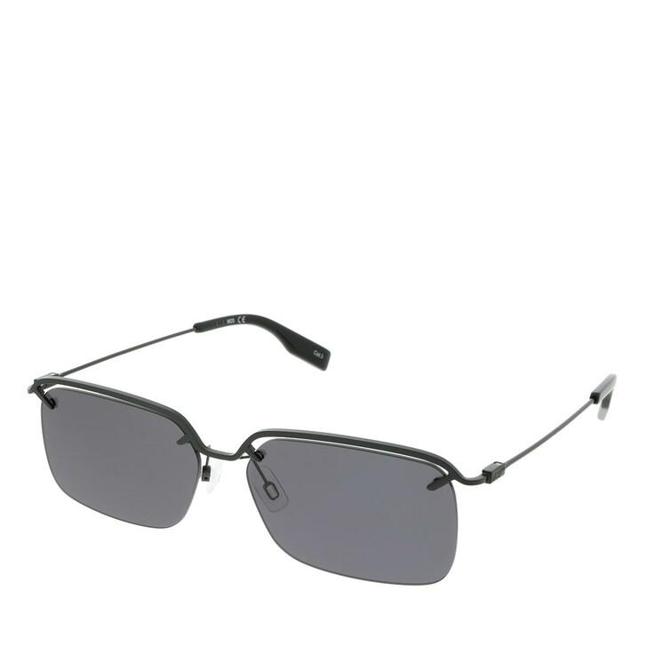 Sonnenbrille, McQ, MQ0313S-001 58 Sunglass MAN METAL BLACK
