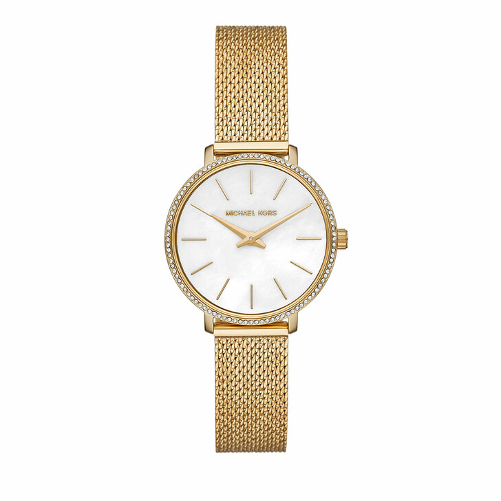 watches, Michael Kors, Pyper Two-Hand Stainless Steel Watch Gold