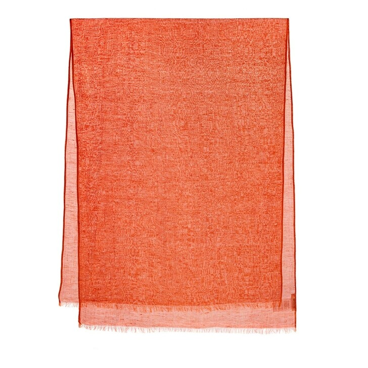 Schal, Closed, Scarf Summer Linen Dusty Coral