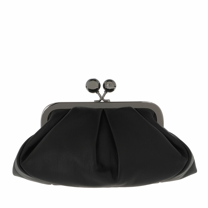 bags, WEEKEND Max Mara, Prati Clutch Black