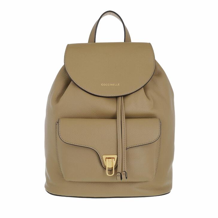 bags, Coccinelle, Coccinelle Beat Soft Handbag  Taupe