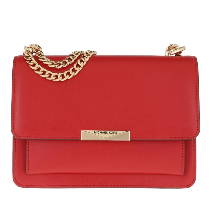 Handtasche, MICHAEL Michael Kors, Jade Shoulder Bag Bright Red