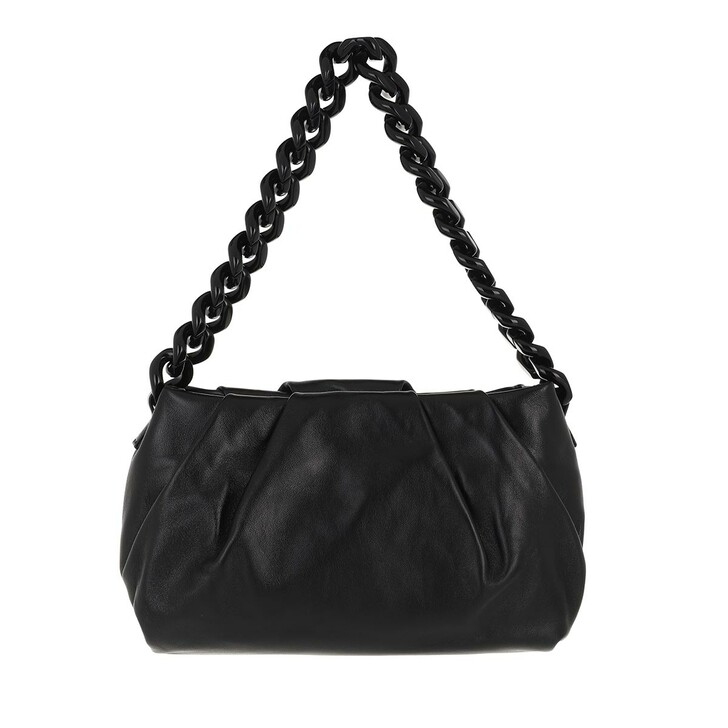 bags, Abro, Shoulder Bag GALI  Black/Gold