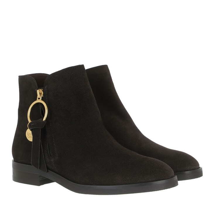 Schuh, See By Chloé, Boots Grafite