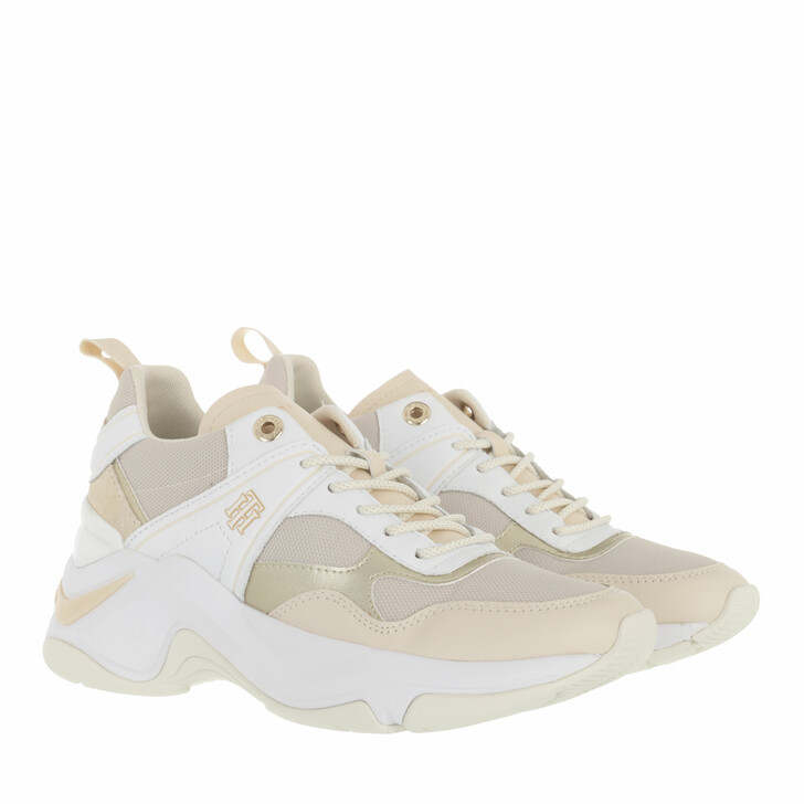 shoes, Tommy Hilfiger, Fashion Wedge Sneaker Sugarcane