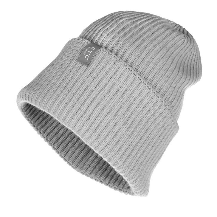 Mütze, FTC Cashmere, Cap Opal Grey