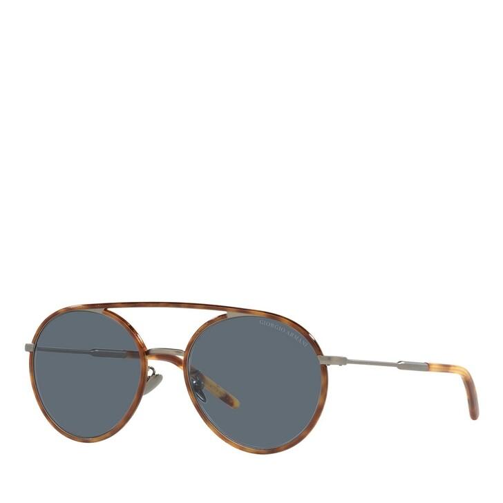Sonnenbrille, Giorgio Armani, 0AR6121J Matte Gunmetal/Avana Miele