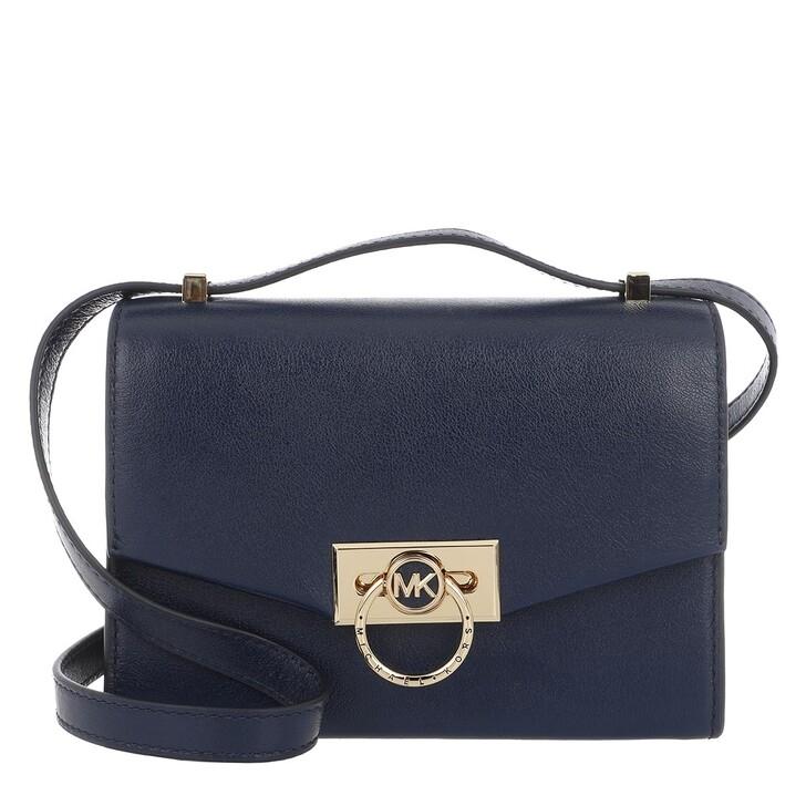 Handtasche, MICHAEL Michael Kors, Hendrix XS Convertible Crossbody Bag Navy