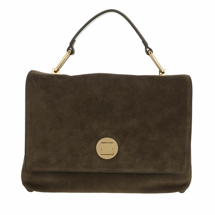 Handtasche, Coccinelle, Liya Crossbody Leather Reef