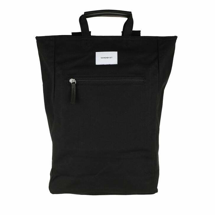 Reisetasche, Sandqvist, Tony Backpacks Leather Black