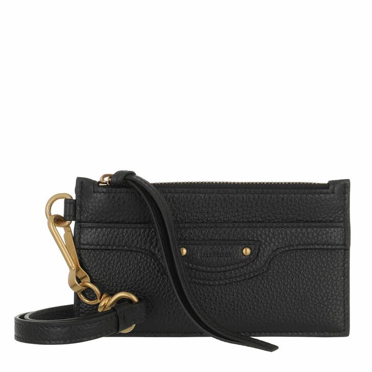 wallets, Balenciaga, Neo Classic Bi-Fold Wallet Black
