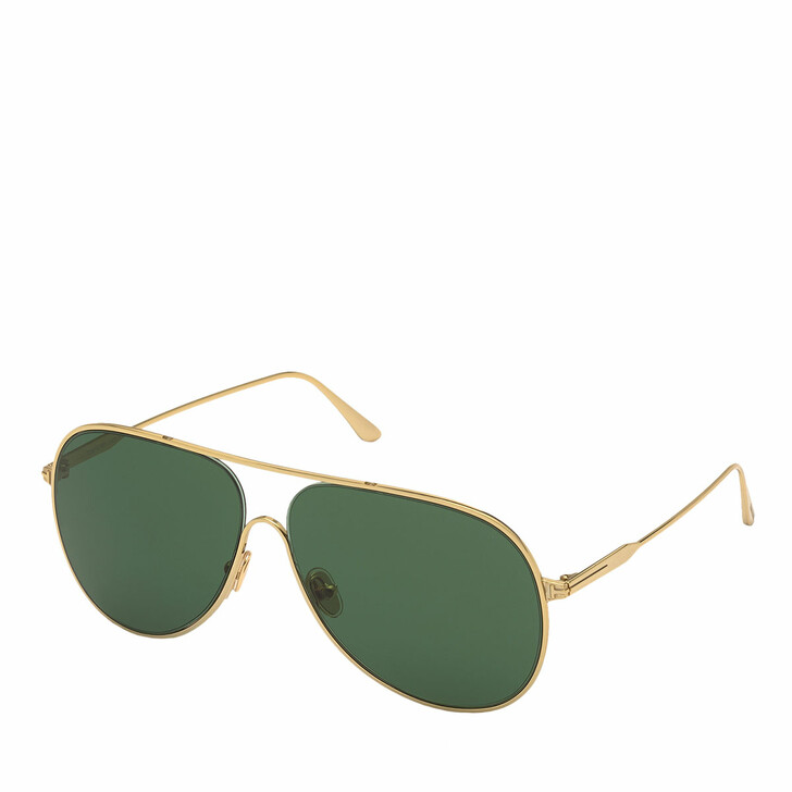 Sonnenbrille, Tom Ford, FT0824 Gold/Green