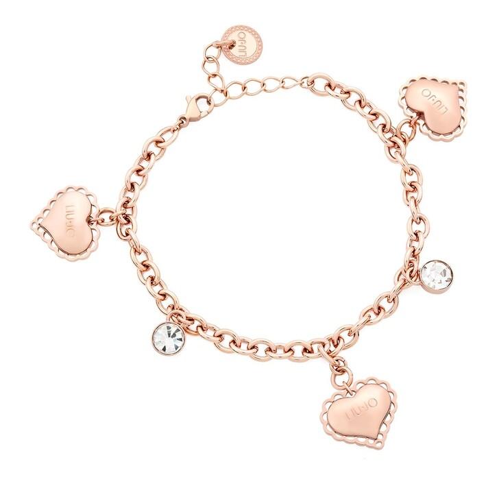 bracelets, LIU JO, BRACELET PASSION Rose Gold