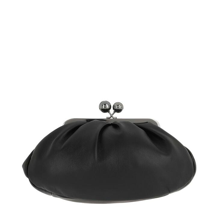bags, WEEKEND Max Mara, Cubico Tote Bag Black