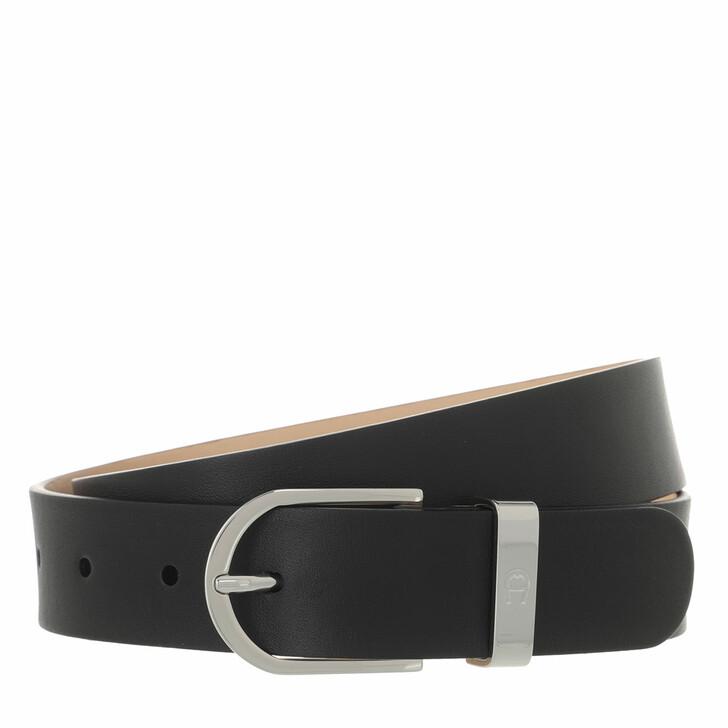 belts, AIGNER, Fashion Belt 3 cm Black