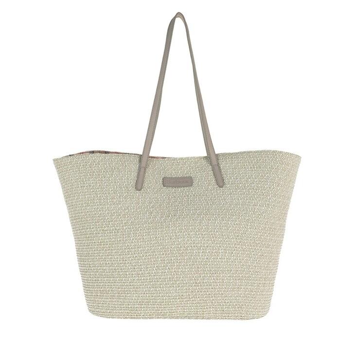 Handtasche, Barbour, Christie Tote Raffia Grey