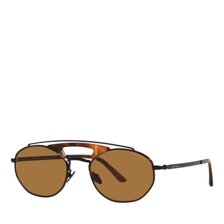 sunglasses, Giorgio Armani, 0AR6116 Matte Black