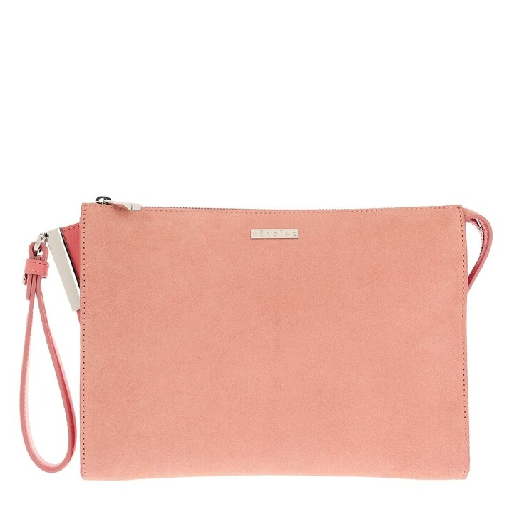 Smartphone/Tablet case (Case), Maison Hēroïne, Iva Tablet Bag Coral Crush/Coral Crush Suede/Silver