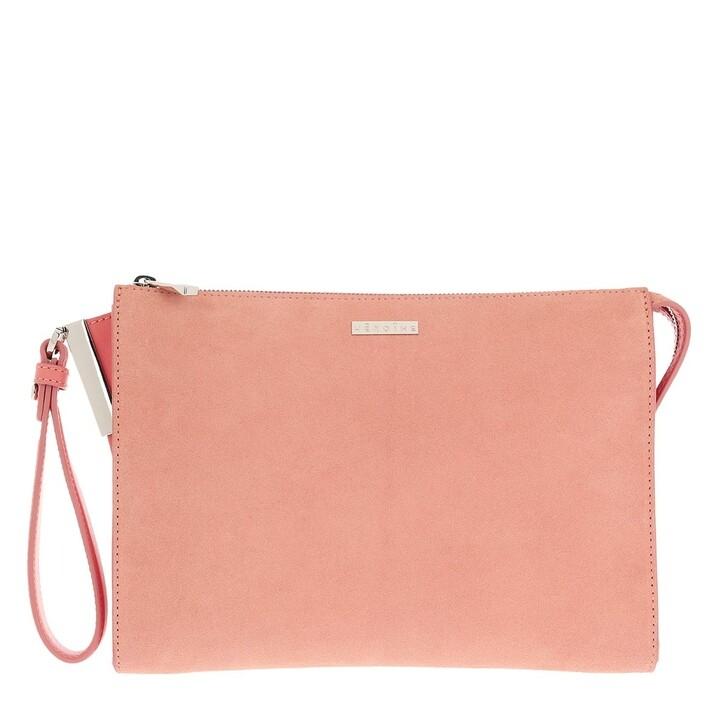 Smartphone/Tablet case (Case), Maison Hēroïne, Iva Tablet Bag Coral Crush/Coral Crush Suede/Silver