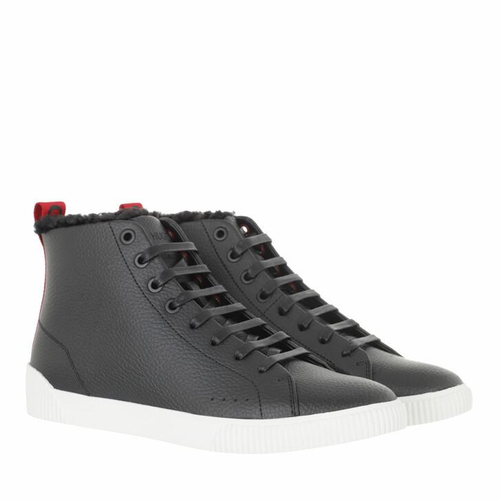 shoes, Hugo, Zero High Top Sneaker Black
