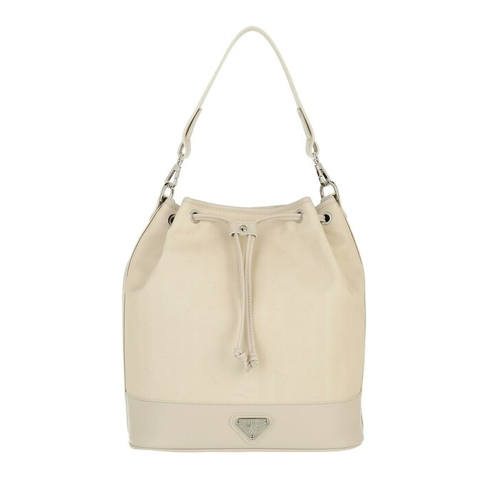 bags, Maison Mollerus, Bucket Pearl Gold