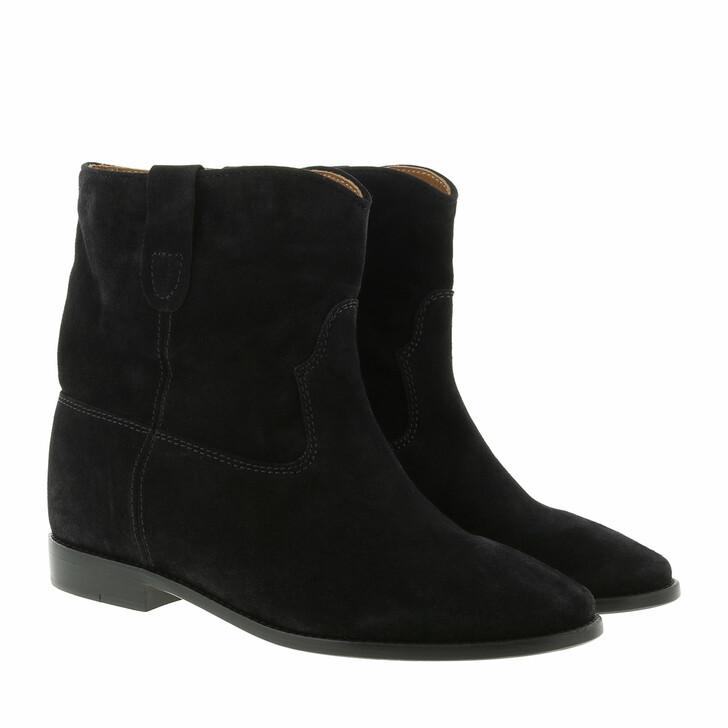 shoes, Isabel Marant Étoile, Crisi 40 Hill Boots Suede Black