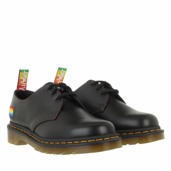 Schuh, Dr. Martens, 1461 Pride Shoe Black