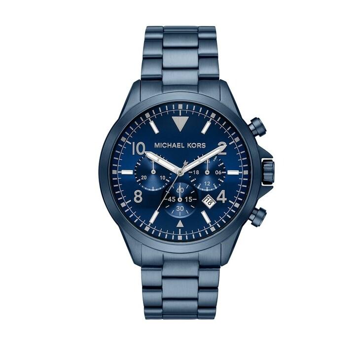 watches, Michael Kors, Gage Watch Men Blue
