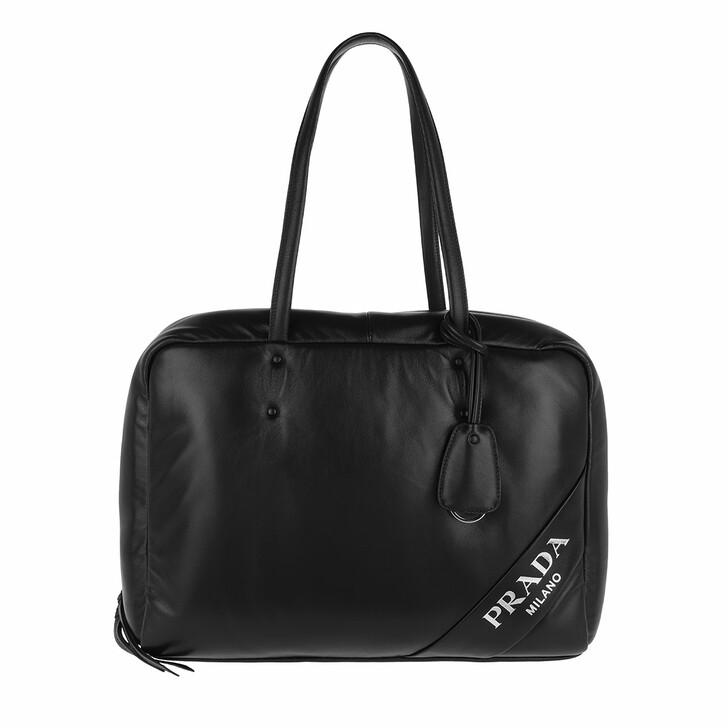 Handtasche, Prada, Padded Tote Bag Large Black