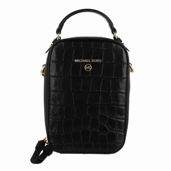 bags, MICHAEL Michael Kors, Small Ns Th Phone Xbody Black