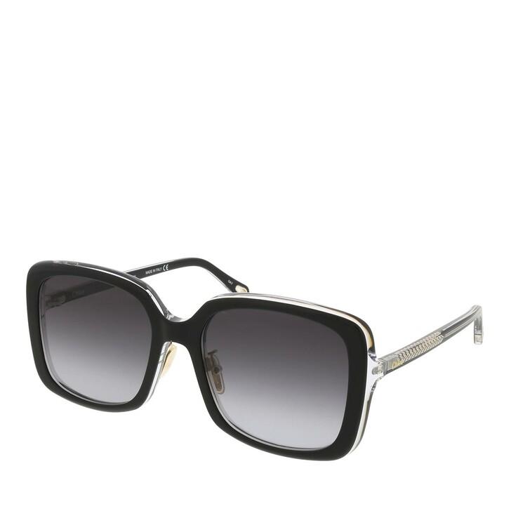 sunglasses, Chloé, CH0073SK-001 57 Sunglass Woman Bio Acetate Black-Black-Grey