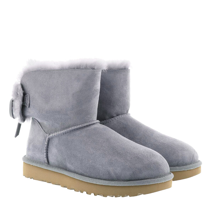 shoes, UGG, W Classic Double Bow Mini Geyser