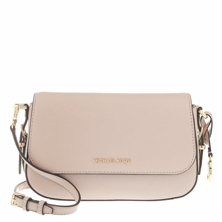 Handtasche, MICHAEL Michael Kors, Large Flap Xbody Handbag  Leather Soft Pink